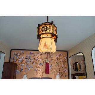 灯7 深圳观澜红木世家 中式八大系列之 古典灯饰