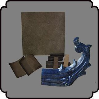 新中式古典装饰材料