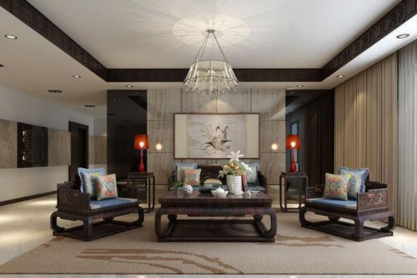 红木家具与地板搭配